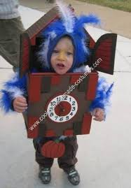 Coolest Toddler Halloween Costumes Coolest Homemade Cuckoo Clock Halloween Costume Toddler