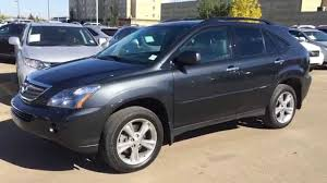 used lexus for sale in dallas tx pre owned grey 2008 lexus rx 400h hybrid ultra premium package