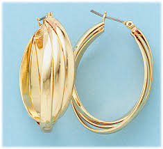 whispers jewelry simply whispers jewelry pierced earrings gold flat wire