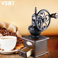 Burr Mill Coffee Grinder Reviews Online Get Cheap Retro Coffee Grinder Aliexpress Com Alibaba Group