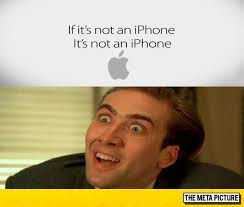 Nicolas Cage Face Meme - apple s new slogan yes this is real the meta picture