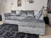 Velvet Sofa For Sale by Crushed Velvet Sofa In Wales Sofas Armchairs Couches U0026 Suites
