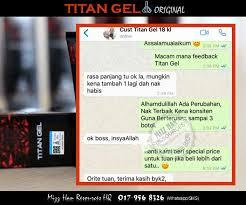 titan gel mhr stokis produk kecantikan