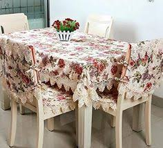 round table cloth covers amazon com fadfay beautiful floral tablecloths lace rectangular