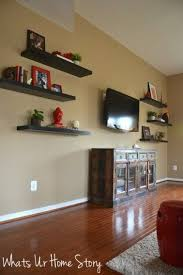 Wall Shelves Ideas by Best 25 Tv Wall Shelves Ideas On Pinterest Floating Tv Stand