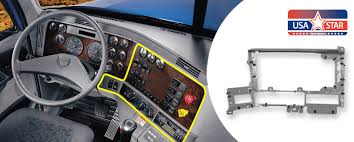 Freightliner Interior Parts Dash Panel U0027skeleton U0027 Located Right Hand Of Steering Replaces