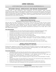 operations manager resume template stores manager resume operations management resume exles