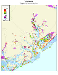 Beaufort Sc Map More Sea Level Rise Maps Of South Carolina