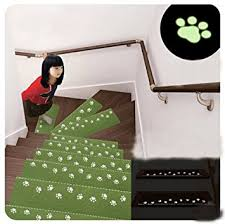 Green Kitchen Rugs Amazon Com 1pcs Stair Treads Anti Slip Night Light Luminous Mats