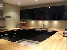cuisine noir laqué cuisine noir laque brico depot construction architecture