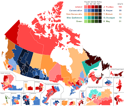 Halifax Canada Map by File Canada Election 2015 Results Map Svg Wikimedia Commons