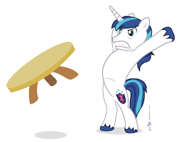 Flip Table Meme - 160457 artist dm29 meme safe shining armor simple background