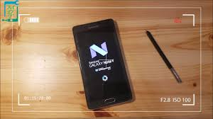Install Android Nougat On Galaxy Note 8 0 Android 7 1 1 Nougat Install On The Samsung Galaxy Note 4