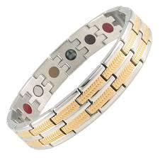 magnetic gold bracelet images Magnetic leaf gold biostrength classic shop png