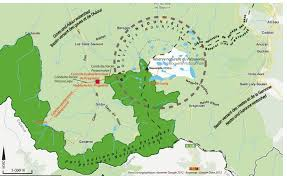 Pyrenees Mountains Map Hydropower Landscapes And Tourism Development In The Pyrenees