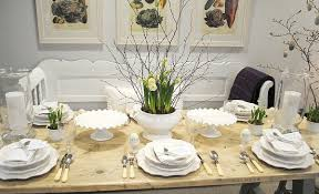 Dinner Table Decor 20 Stylish And Unique Easter Dinner Table Decorations