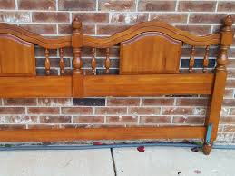 solid wood king headboard solid wood king size maple headboard okc craigslist craigslist
