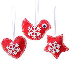online shop ourwarm 3pcs christmas tree hanging ornaments chinese