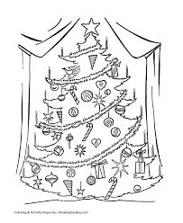 christmas tree coloring pages big christmas tree coloring sheet