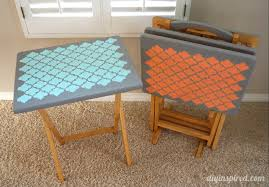 Tv Tray Table Tv Tray Table Upcycle Diy Inspired