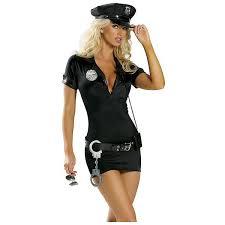 Police Woman Halloween Costume Cameo Lingerie Police Woman Costume 1157 48