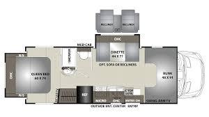 coachmen prism 2250ds diesel class c motorhome floor plan