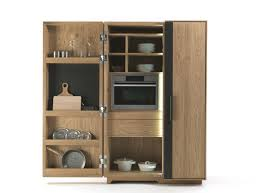 Wood Storage Cabinet Wooden Storage Cabinet For Kitchen Cambusa By Giuliano