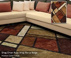 Orian Area Rugs Impressive Shag Ri La Collection A Medley Of Earth Tones