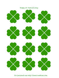 free printables st patrick u0027s day cupcake toppers