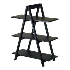 A Frame Ladder Lowes by Winsome Wood 20130 3 Tier A Frame Shelf Bookcase Lowe U0027s Canada