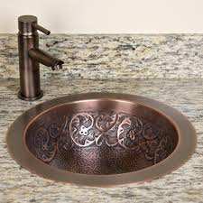 beautiful hammered copper sink signature hardware