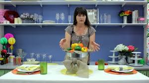 How To Decorate A Table How To Decorate A Table With Vegetables Table Decorations Youtube
