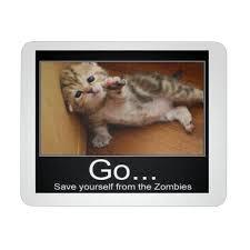 Meme Mouse Pad - cat zombies meme mousepad the x m world