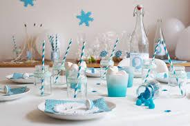 deco de table pour anniversaire une table d u0027anniversaire romantico givrée reine des neiges