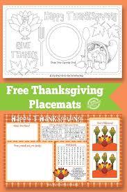 thanksgiving place mats thanksgiving placemat free kids printable kids activities