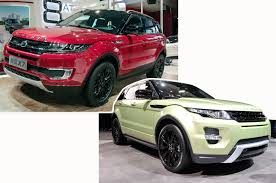 kereta range rover range rover evoque vs landwind x7 copycat u2013 which is better autocar