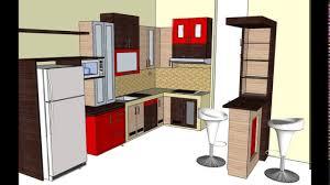 design kitchen set mini bar youtube