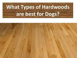 different types of hardwood floors williams