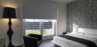 White Wood Blinds Bedroom Mr Blinds Roller Blinds Vertical Blinds Blinds Auckland Blinds Nz
