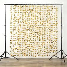 wedding backdrop gold dazzling metallic foil flower wedding backdrop gold 6ftx6ft