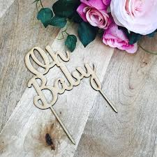 oh baby cake topper cake decoration baby shower cake topper shower