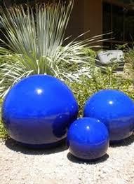 266 best gazing balls images on garden balls garden