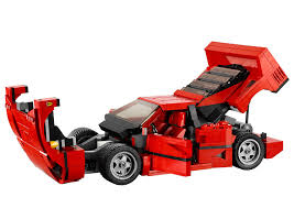 toy ferrari lego ferrari f40 announced iconic 1987 supercar u0027s blockbuster toy