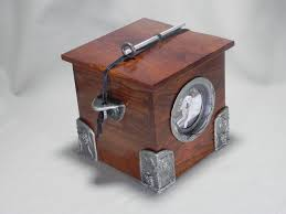 handmade wooden chest cremation urn for ashes handmade cremation