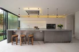 kitchen island worktops concrete worktops and flooring are for industrial kitchens