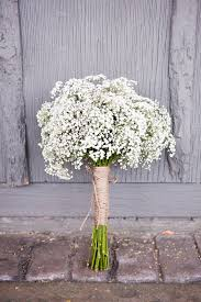 baby s breath bouquets picture of twine and a baby s breath bouquet make up a cool rustic