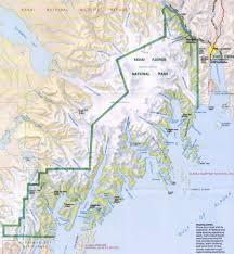 Us National Parks Map Kurt Friehauf Alaska 2011 Project Description Kenai Fjords