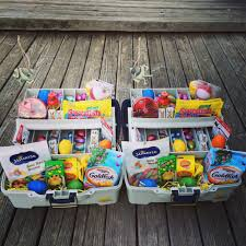 Easter Gift Ideas by 25 Great Easter Basket Ideas Tackle Box Goldfish Crackers And