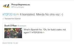 Spanish For Socks Tour Tweets Of The Week Cav Can Can Bernie U0027s Back And Sagan