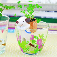 Animal Planter by Shippon Drinking Animal Planter Cat Self Watering Flower Pot